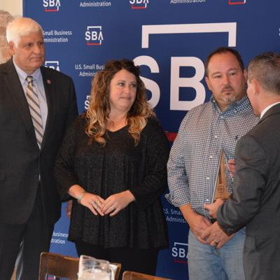 Owners of Uniontown Brewing Company receive SBA Spark Award