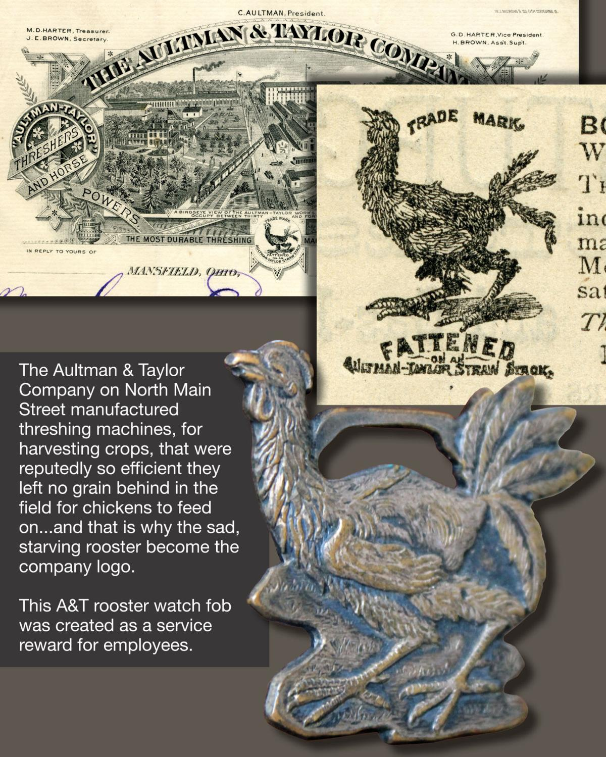 Starving rooster of Aultman & Taylor