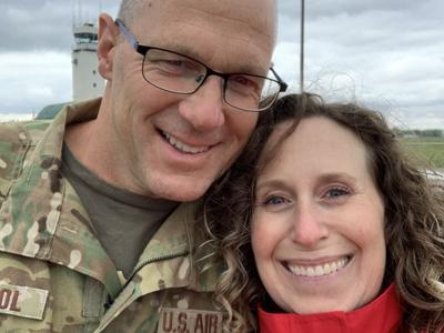 Ashland airman leaves weekly letters for wife at local bakery during deployment