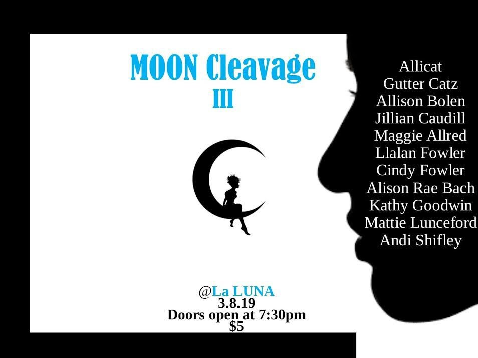Moon Cleavage III to spotlight local female musicians & poets on March 8