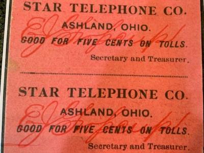Star Telephone Company began in Butler in 1896