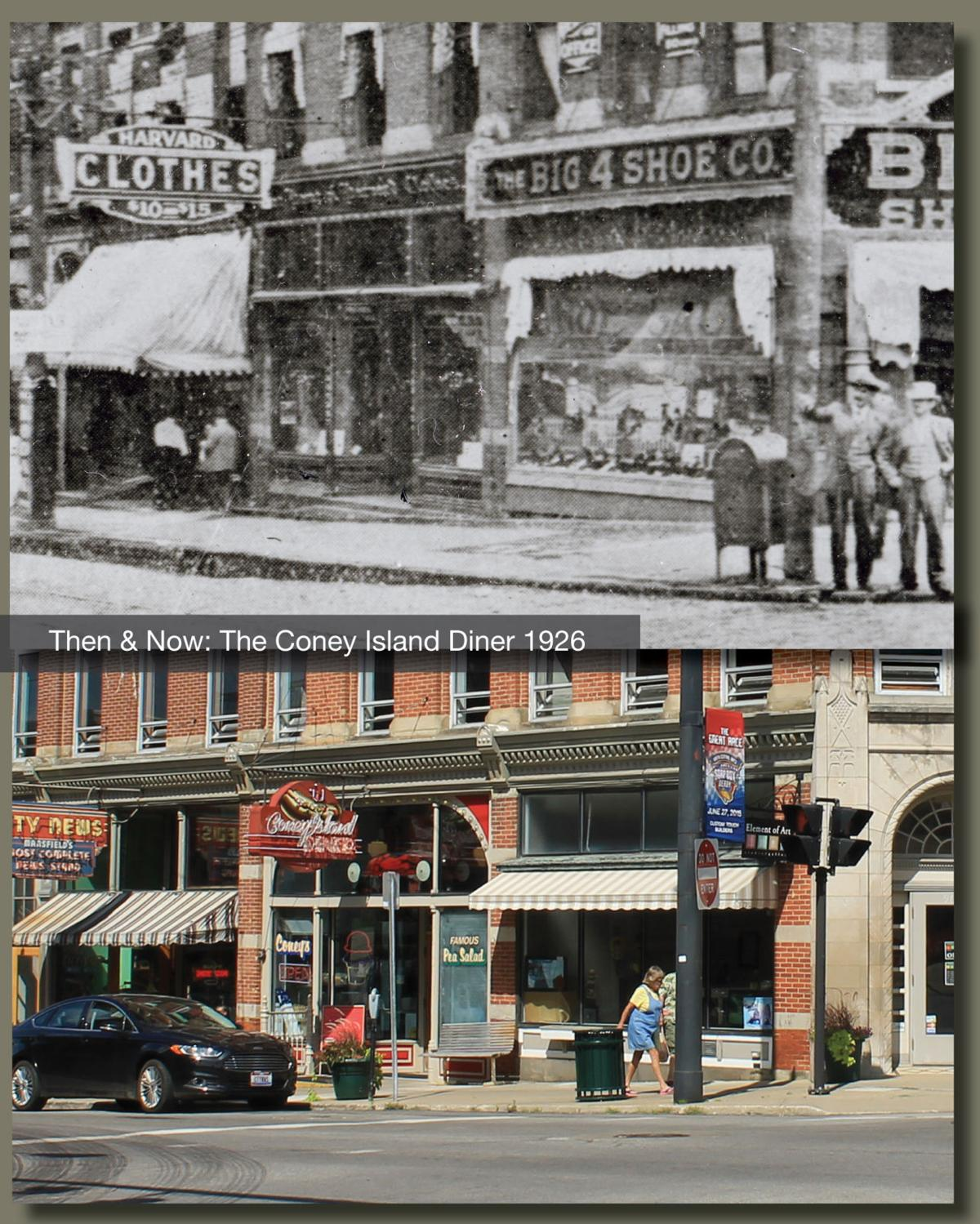 Then & Now: Coney Island Diner 1926