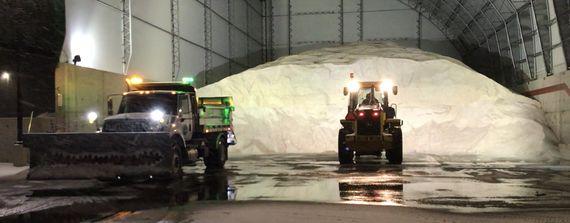 ODOT salt truck