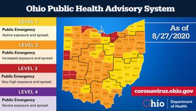 COVID-19: Richland County records 17th death, remains 'yellow' in rating