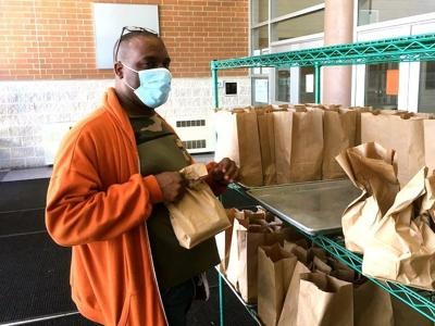 Mansfield City Schools distributed nearly 35,000 sack meals