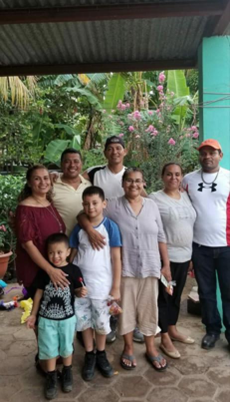Yahoska's family