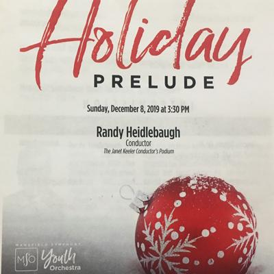 Mansfield Symphony Youth Orchestra closes Holiday Prelude with Sleigh Ride