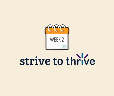 Strive to Thrive contestant standings (Week 2)