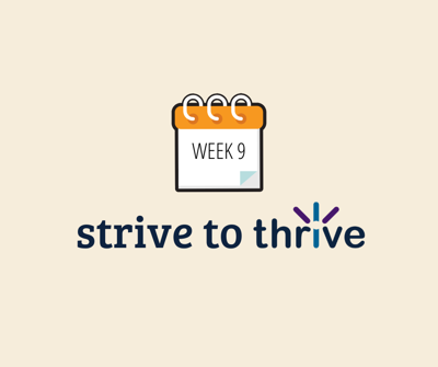 Strive to Thrive contestant standings (Week 9)