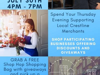 """Galion-Crestline Chamber to host """"Christmas in July"""" Shop Hop"""