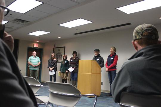 Tri-county coalition in Ohio takes drilling concerns to the public