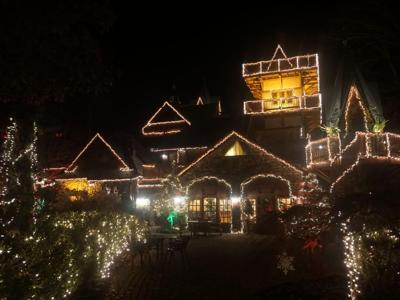 """Landoll's Mohican Castle presents """"Christmas at the Castle, a Kingdom of Lights"""""""