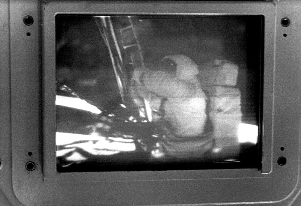 TV moon landing