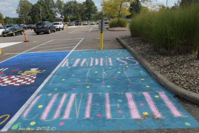 Ontario students raise over $1K for CamStrong Foundation with parking space fundraiser
