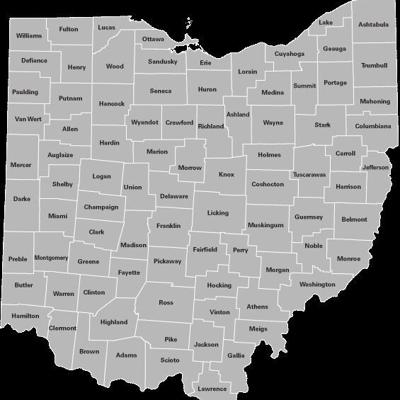 Here's how Ohio's 88 counties got their respective names