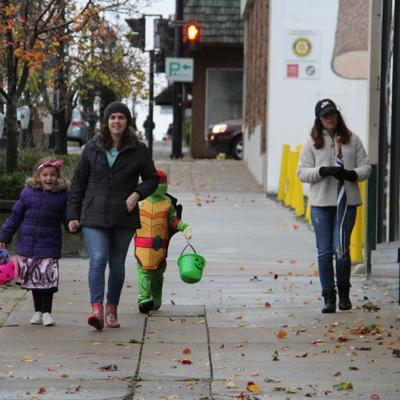 GALLERY: Downtown Mansfield welcomes trick-or-treat guests