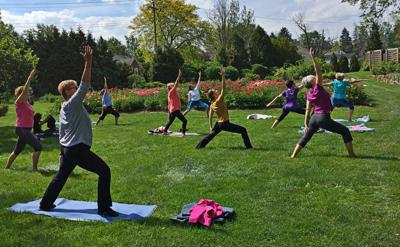 Claudia Cummins' yoga, meditation classes center on community
