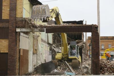 Gallery: Downtown Ashland Weiss building demolition