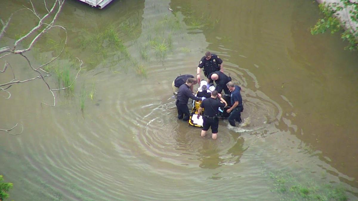 floodwater rescue