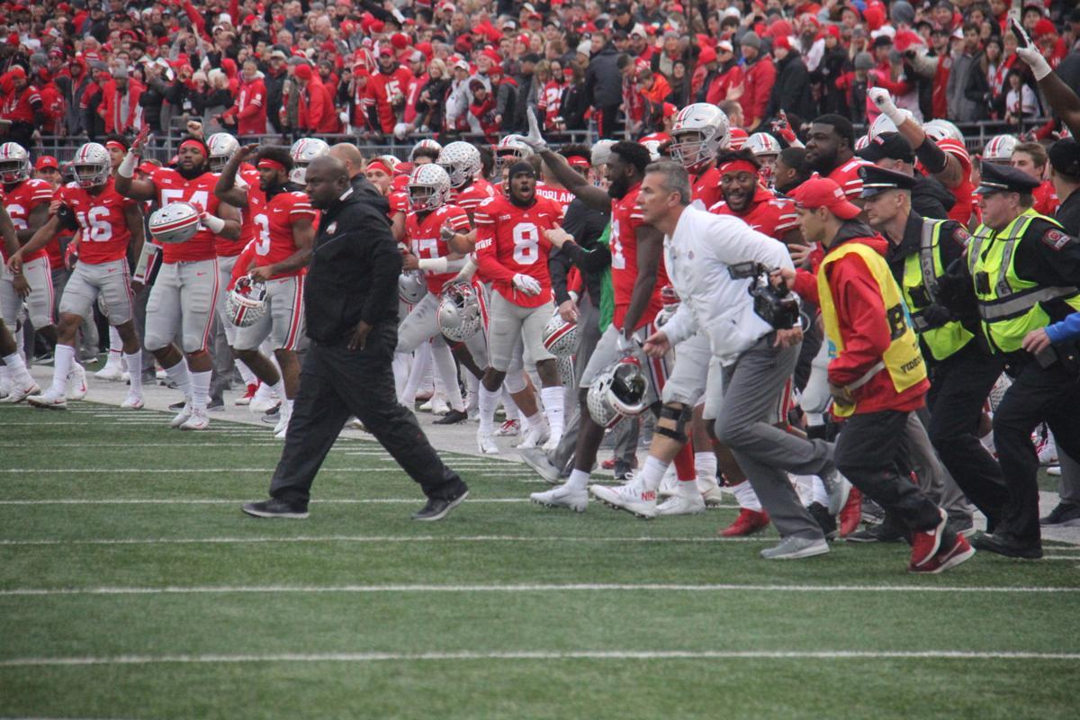 Urban Meyer final game at Ohio Stadium.JPG