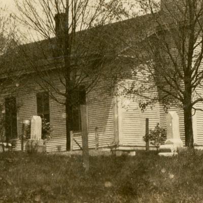 The Ontario Graveyard dates to 1910