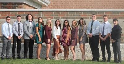 2020 Shelby Homecoming Court