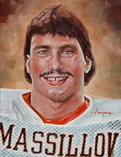 Chris Spielman Portrait