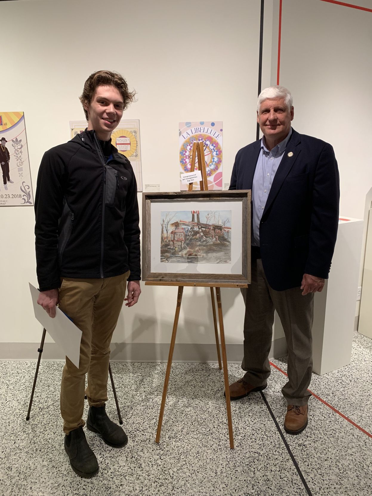 Ontario, Plymouth students earn state art awards