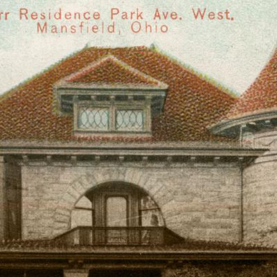 Then & Now: Kerr residence on Park Avenue West 1913