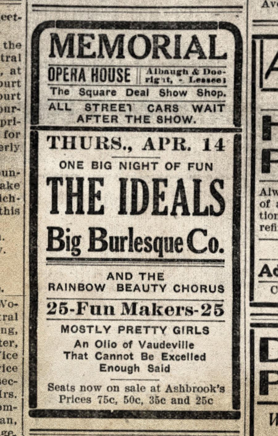 Opera House 1910