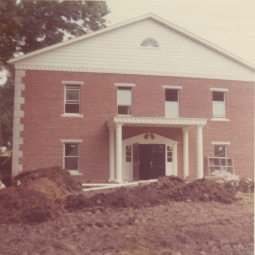 Construction of the Mohican Historical Society was completed in 1973
