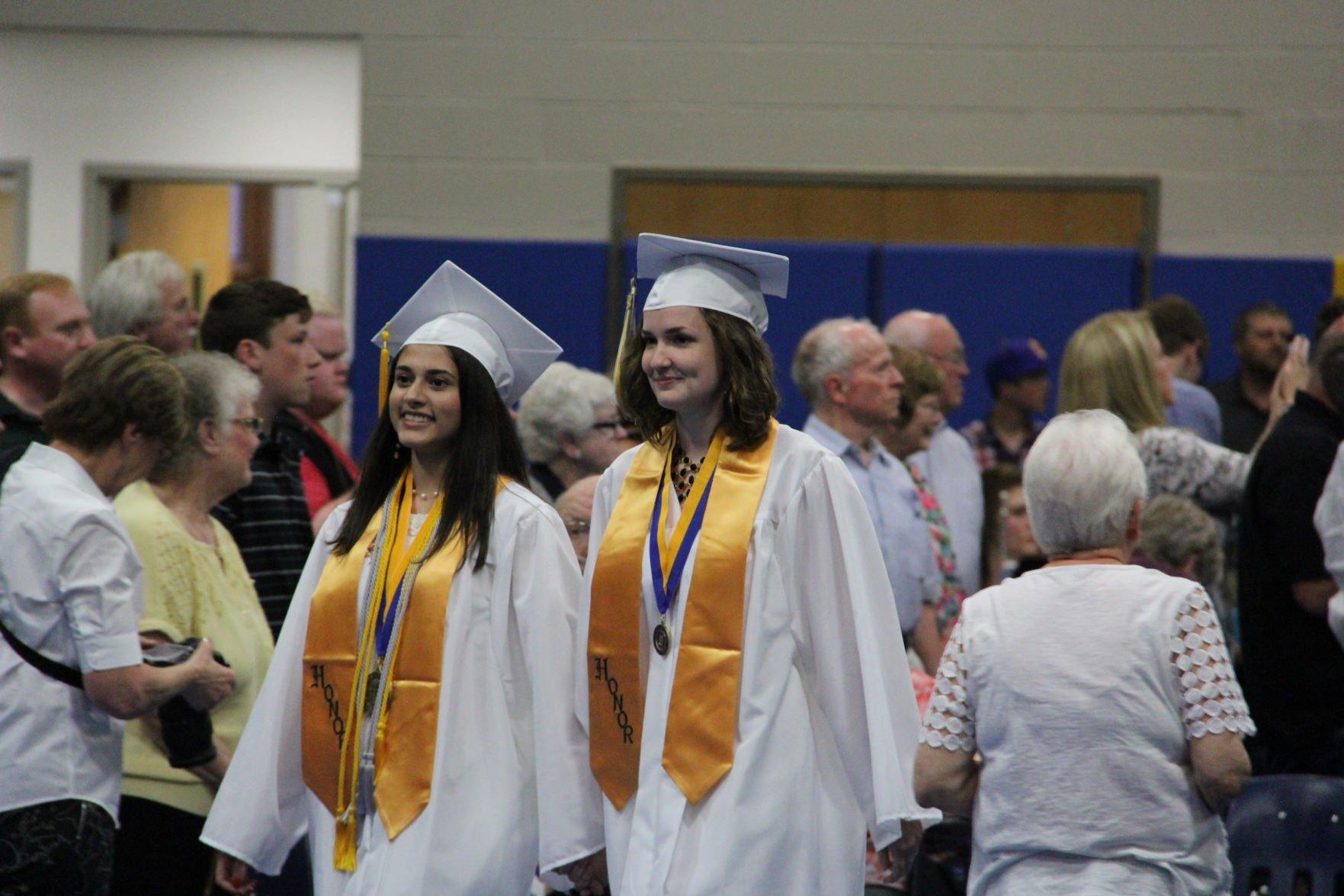 Ontario High School 2018 graduation