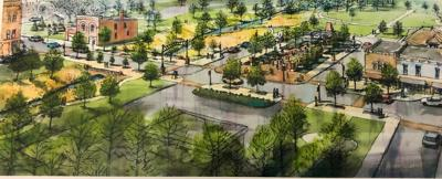 Shelby main street project rendering