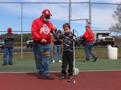 Lions clubs host special Easter egg hunt for visually impaired children