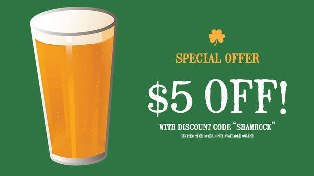 Craft beer coupon