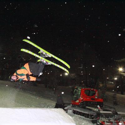 Photo Gallery: Big Air competition at Snow Trails 2020
