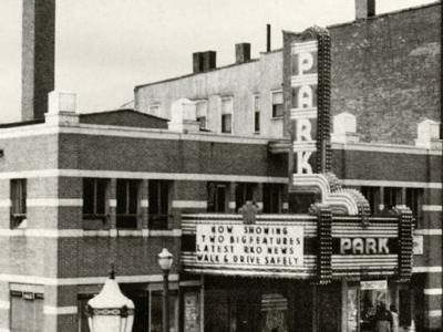 Then  Now: Park Theater 1945 in downtown Mansfield