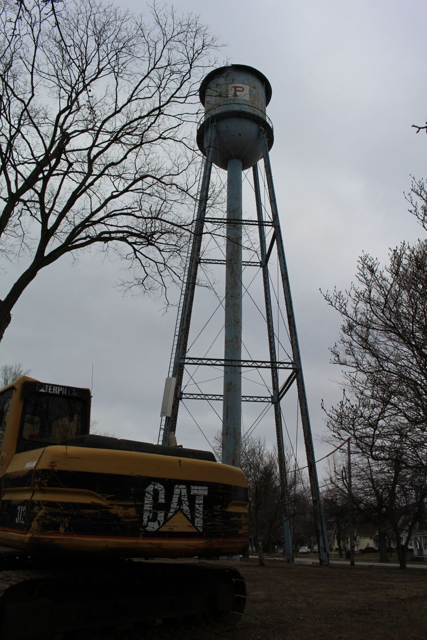 Trenton Water Tower Demolition : Plymouth s oldest water tower slated for demolition news