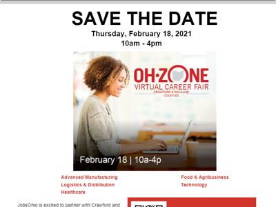 Virtual career fair on Feb. 18 to connect job seekers with local employers