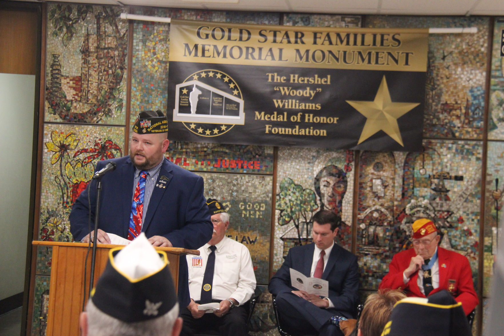 Ground broken for Gold Star Families Memorial at Richland County Courthouse