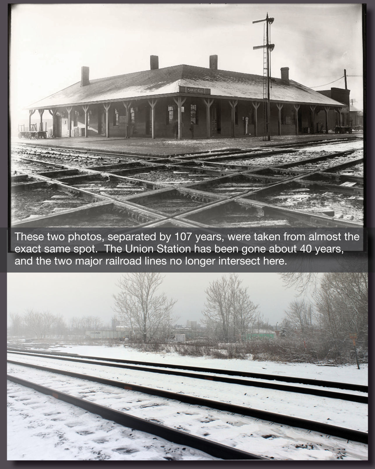 Union Station in Mansfield: a lament
