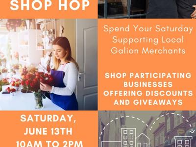 Galion-Crestline Chamber to host Second Saturday Shop Hop on June 13