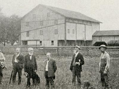 Richland County was home to the famous watershed barn