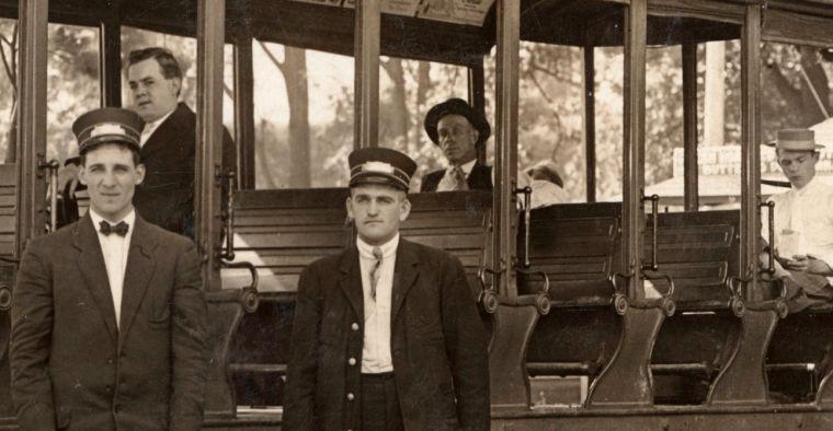 1913 trolley