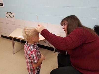 Fairway Preschool students receive gratis vision screenings