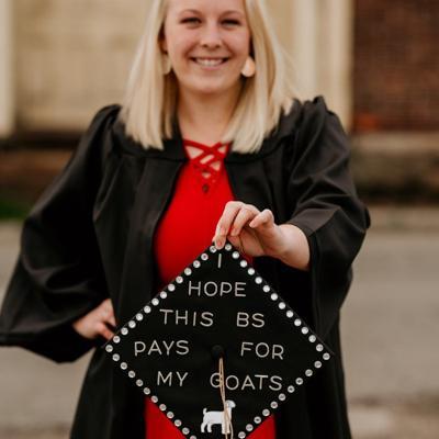 The Ohio State University  2021 Graduate: Shelby Tedrow