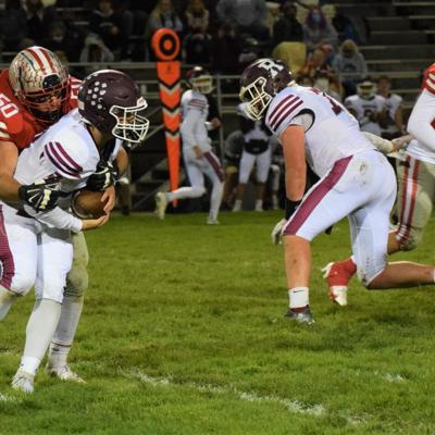 Shelby pressures Rossford in 32-13 playoff victory