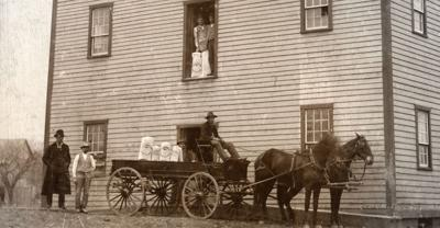 Charles Mill in 1901