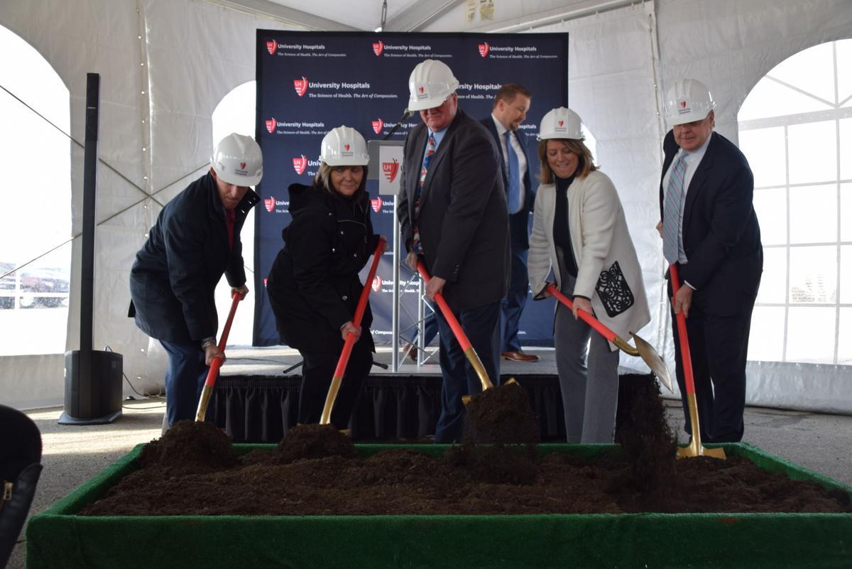 University Hospitals break ground on new health center, hope