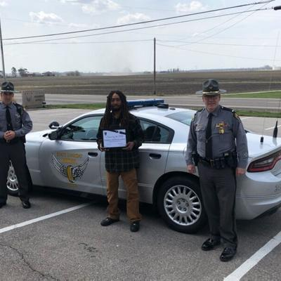 """Morrow County man joins Ohio's """"Saved by the Belt"""" Club"""
